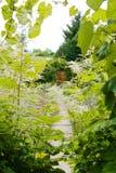 Vecchio cancello di giardino Fotografie Stock