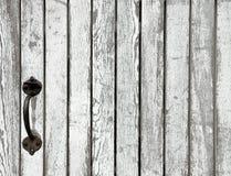 Vecchio cancello di legno Fotografia Stock Libera da Diritti