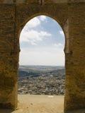Vecchio cancello - Fes Fotografia Stock