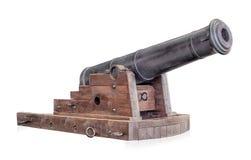 Vecchio cannone Fotografia Stock