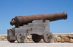 Vecchio cannone immagine stock libera da diritti