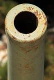 Vecchio cannone arrugginito Fotografia Stock Libera da Diritti