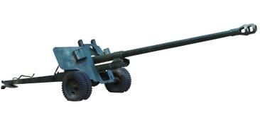 Vecchio cannone dell'artiglieria. Fotografie Stock Libere da Diritti
