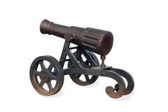 Vecchio cannone di guerra Fotografia Stock Libera da Diritti