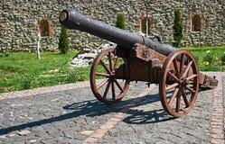 Vecchio cannone di guerra Fotografie Stock