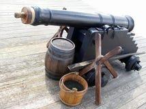 Vecchio cannone forte Immagine Stock Libera da Diritti