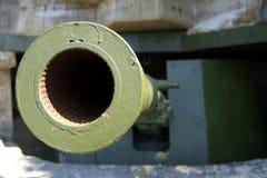 Vecchio, cannone tedesco di WW II Fotografie Stock Libere da Diritti