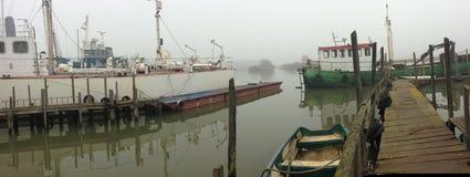 Vecchio cantiere navale Fotografie Stock