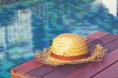 Vecchio cappello del tessuto Fotografia Stock Libera da Diritti