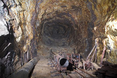 Vecchio carbonile II dalla guerra mondiale - Wlodarz Immagine Stock Libera da Diritti