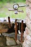 Vecchio carillon di vento Fotografia Stock Libera da Diritti