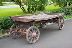 Vecchio carrello Immagine Stock