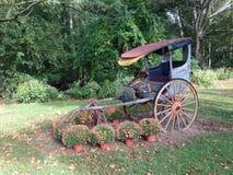 Vecchio carrello Fotografia Stock