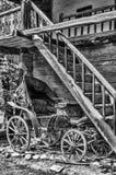Vecchio carrello Immagini Stock Libere da Diritti