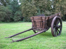 Vecchio carrello antico Immagine Stock Libera da Diritti