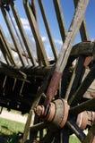 Vecchio carrello del cavallo Fotografia Stock Libera da Diritti