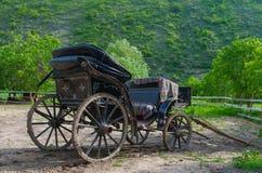 Vecchio carrello del cavallo Fotografie Stock