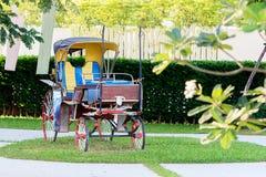 Vecchio carrello del cavallo Fotografia Stock