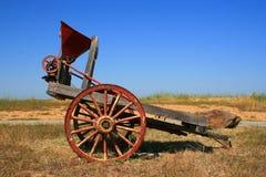 Vecchio carrello dell'azienda agricola Fotografie Stock