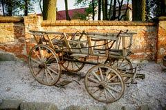 Vecchio carretto Fotografia Stock