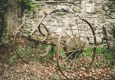 Vecchio carretto dell'aratro Fotografie Stock