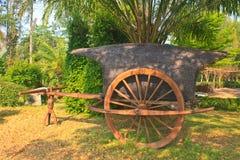 Vecchio carretto di legno Immagine Stock