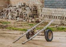 Vecchio carretto nell'Irak fotografia stock libera da diritti
