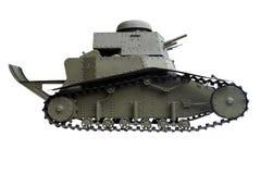 Vecchio carro armato della fanteria leggera Immagine Stock