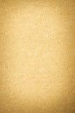 Vecchio cartone giallo Fotografie Stock