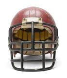 Vecchio casco di calcio Immagine Stock Libera da Diritti