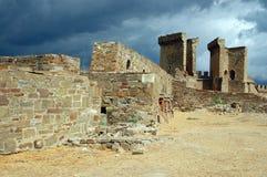 Vecchio castello Fotografie Stock