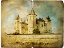 Vecchio castello illustrazione di stock