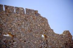 Vecchio castello abadoned Immagine Stock Libera da Diritti