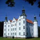 Vecchio castello antico bianco Immagine Stock Libera da Diritti