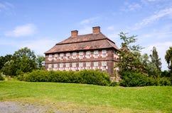 Vecchio castello antico europeo Immagine Stock Libera da Diritti