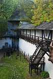 Vecchio castello Banska Stiavnica Fotografia Stock Libera da Diritti