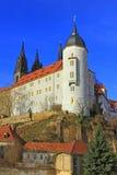 Vecchio castello dei vescovi, Meissen, Germania Fotografie Stock Libere da Diritti