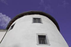 Vecchio castello della città Fotografia Stock