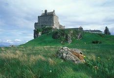 Vecchio castello della Scozia Fotografia Stock Libera da Diritti