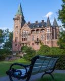 Vecchio castello di Teleborg dello scandinavo in Svezia Fotografie Stock