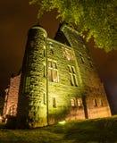 Vecchio castello di Teleborg dello scandinavo in Svezia Immagini Stock