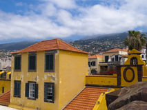 Vecchio castello a Funchal, Immagini Stock