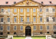 Vecchio castello in Holic, Slovacchia, tema architettonico fotografia stock