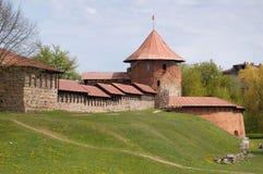 Vecchio castello a Kaunas fotografie stock