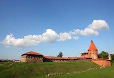 Vecchio castello a Kaunas, Lituania. Fotografia Stock