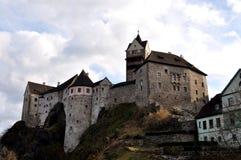 Vecchio castello Loket Fotografia Stock