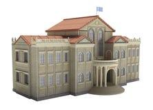 Vecchio castello medeval Fotografie Stock Libere da Diritti