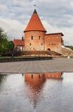 Vecchio castello medievale a Kaunas Immagine Stock