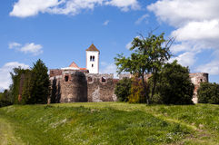 Vecchio castello medioevale Fotografie Stock