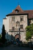 Vecchio castello a Meersburg, Germania Immagini Stock Libere da Diritti